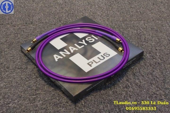 dây tín hiệu analysis plus oval one giá rẻ tại hà nội